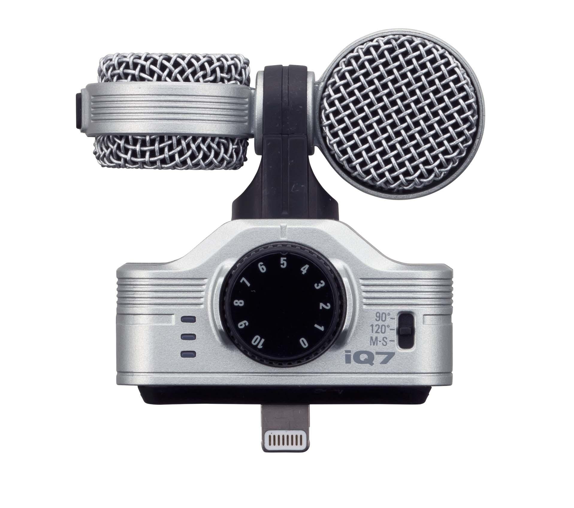 Zoom iQ7 MS Stereo Mikrofon für iPhone, iPad und iPod Touch 101918