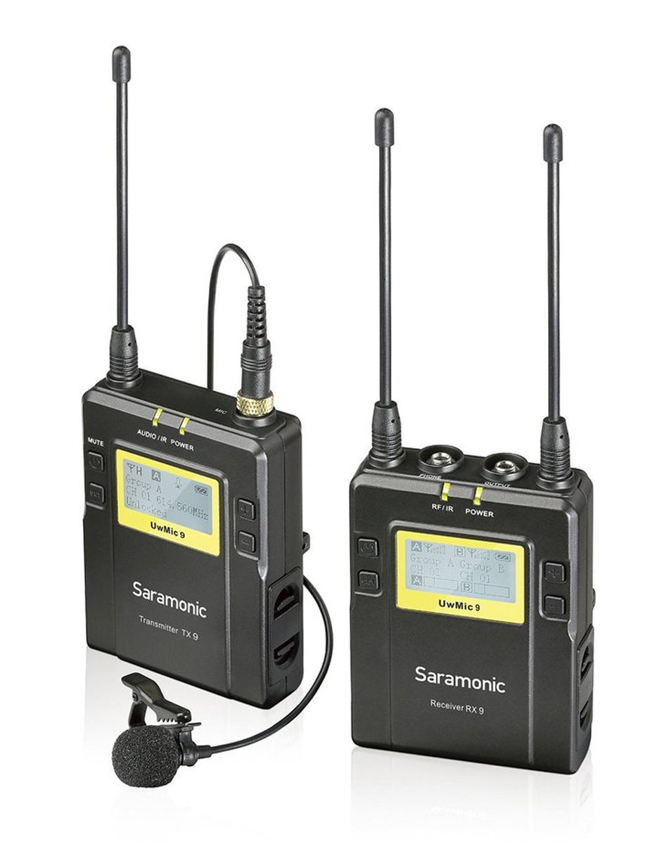 Saramonic UwMic9 Kit 1 TX9+RX9 Transmitter + Receiver 105871