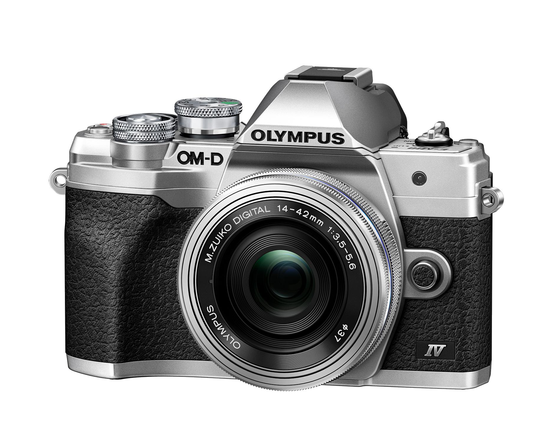 Olympus OM-D E-M10 M IV+ED 3,5-5,6/14-42 mm EZ silber Kamera-Kit 109838