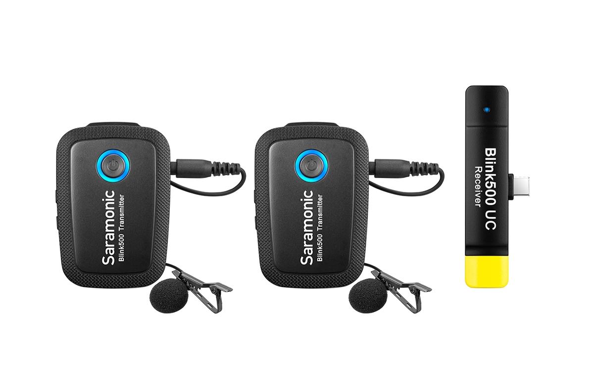 Saramonic Blink 500 B6 (TX+TX+RXUC) 2x Transmitter+1x Receiver USB Typ-C 110056