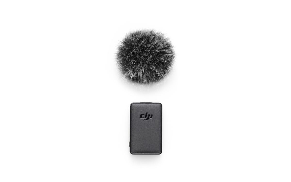 Dji Pocket 2 Funkmikrofon mit Windschutz 110521