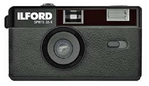 Ilford Sprite 35-II Kamera, black 111149