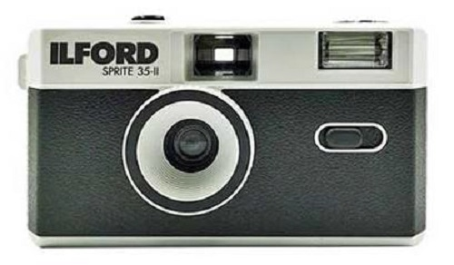 Ilford Sprite 35-II Kamera, black&silver 111150