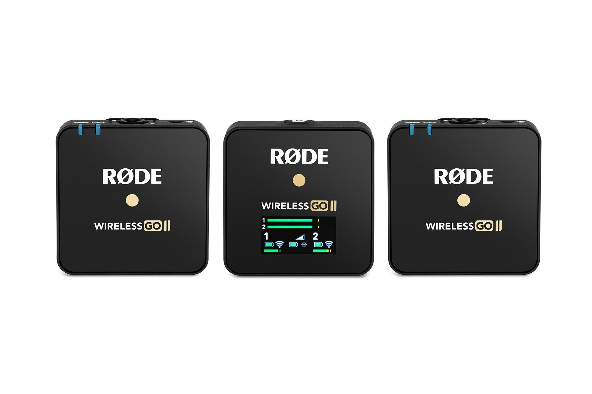 Rode Wireless GO II digitales 2-Kanal Drahtlos Mikrofonsystem 111187