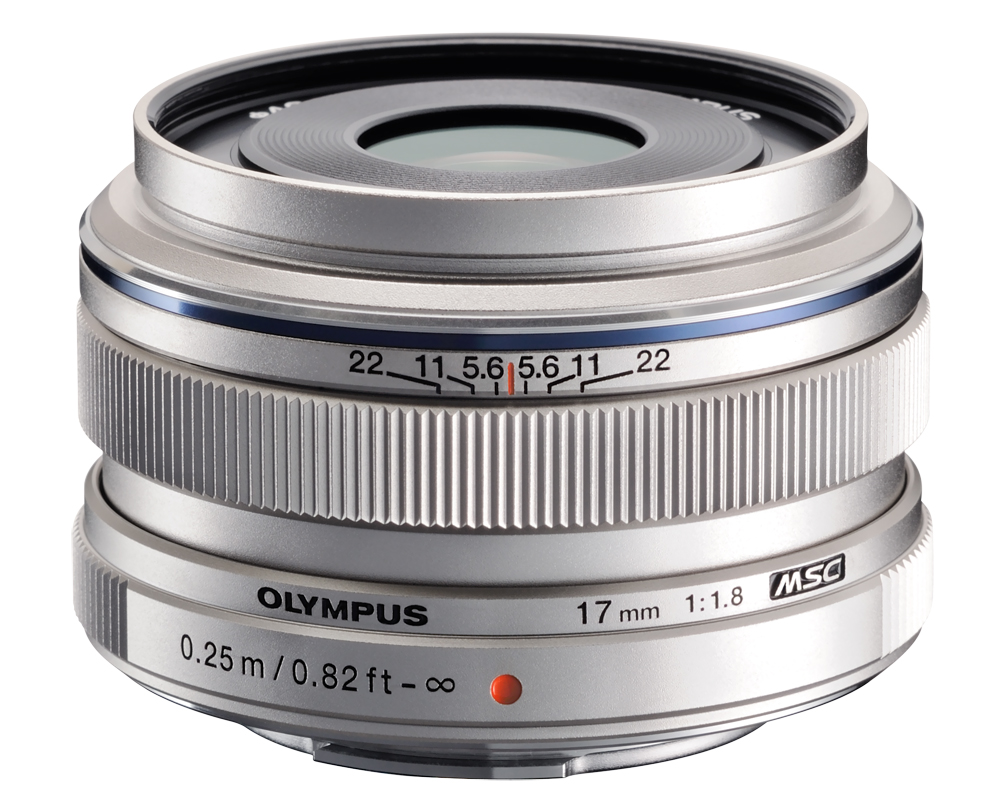 Olympus M.Zuiko 1,8/17 mm silber, Objektiv 12342