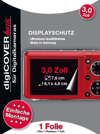 S&m Display-Schutzfolie Basic 7,6 cm (3,0
