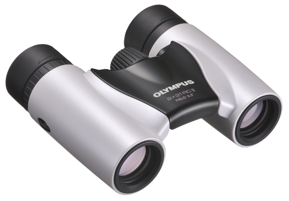 Olympus Ultra Kompakt 8x21 RC II weiß Fernglas 52955