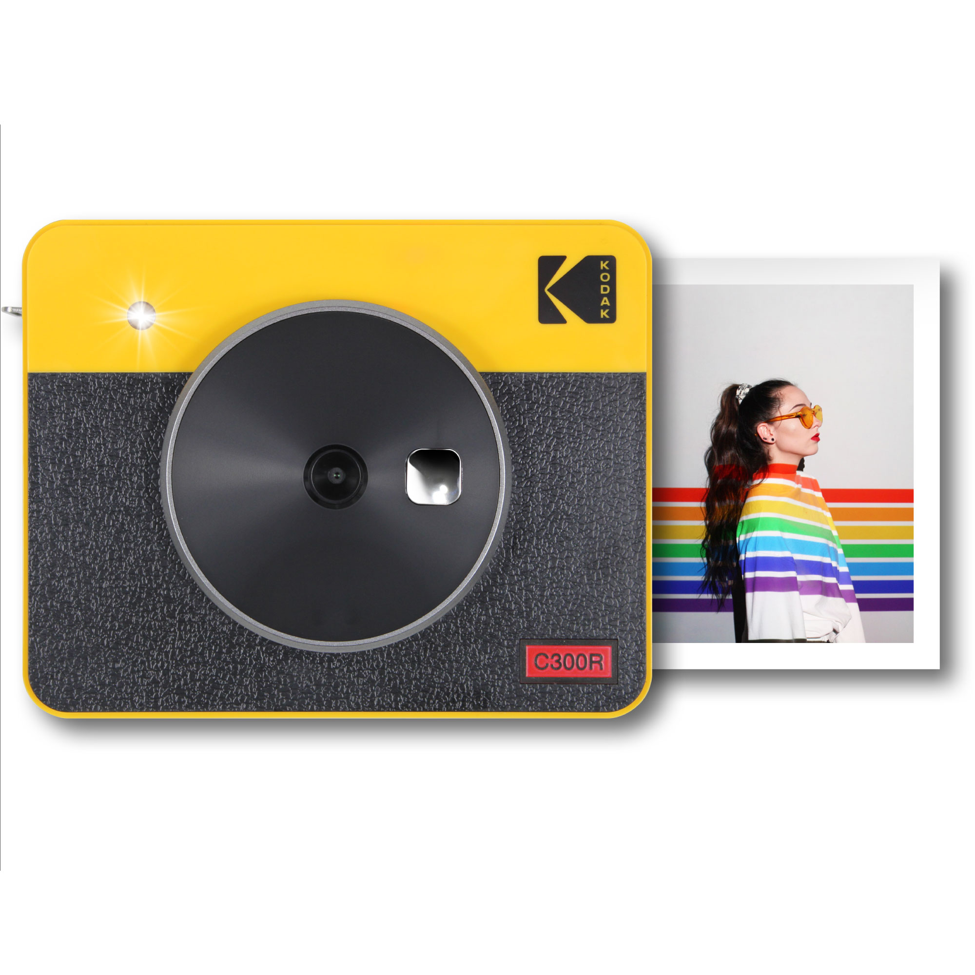Kodak Mini Shot Combo 3 Retro yellow Sofortbildkamera H-110336