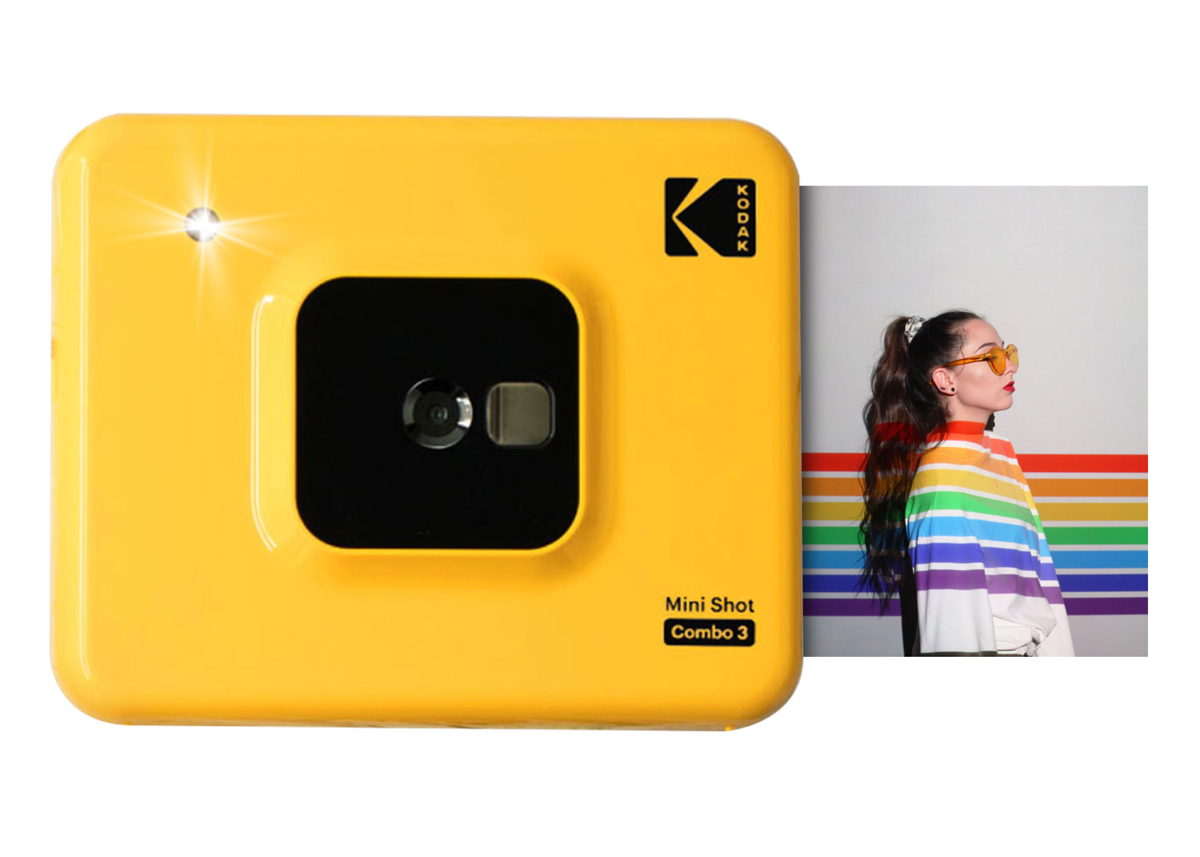 Kodak Mini Shot Combo 3 yellow Sofortbildkamera H-110338