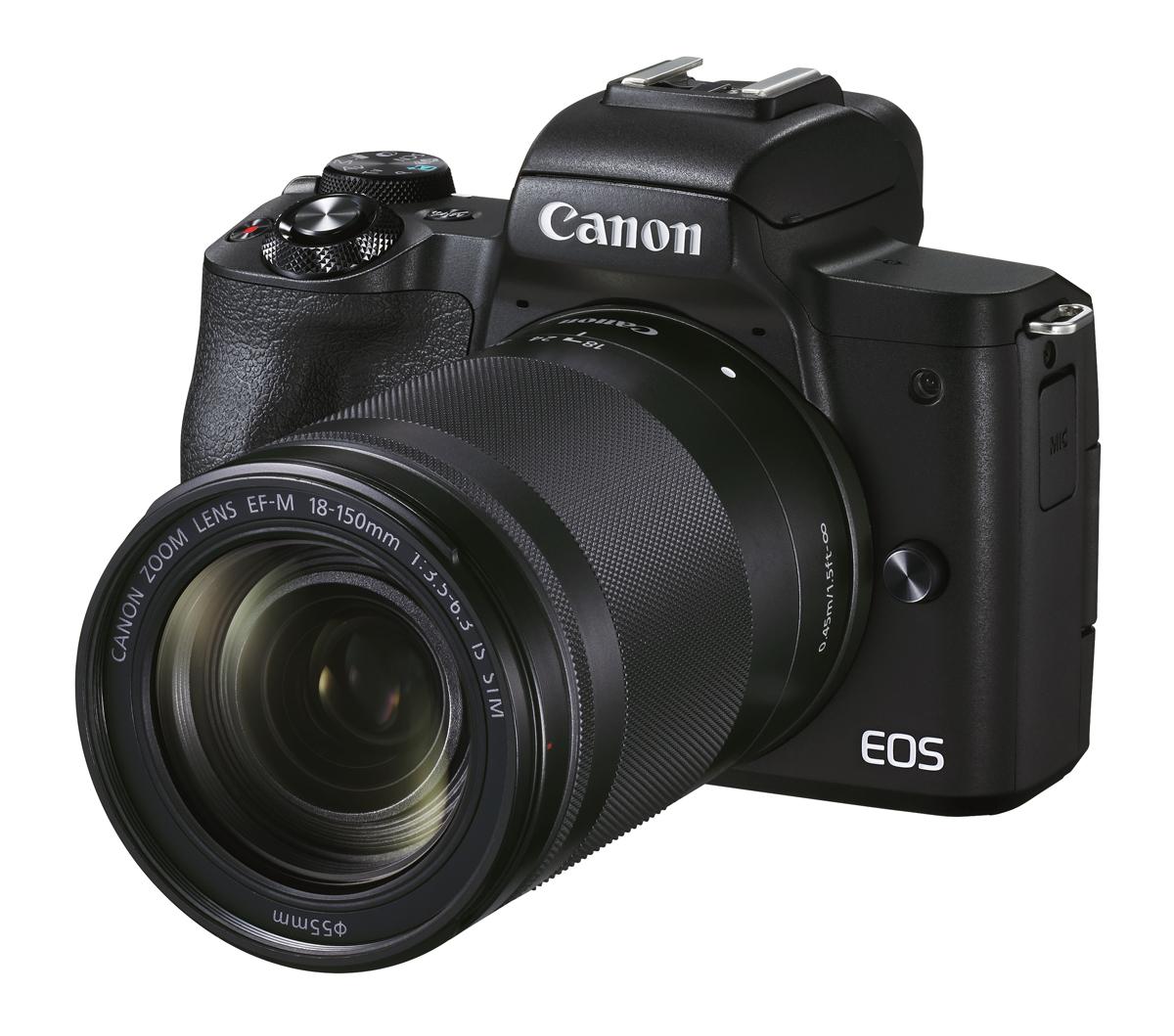 Canon EOS M50 II schwarz+EF-M 18-150 mm IS STM Kamerakit H-111163