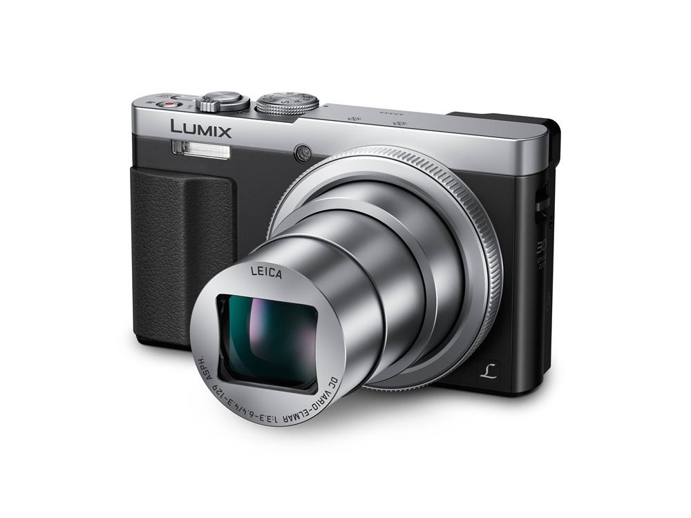 Panasonic SUPER-SET Lumix DMC-TZ71 EG-S silber inkl. 16 GB SD Speicherkarte + Tasche H-TZ71SSET