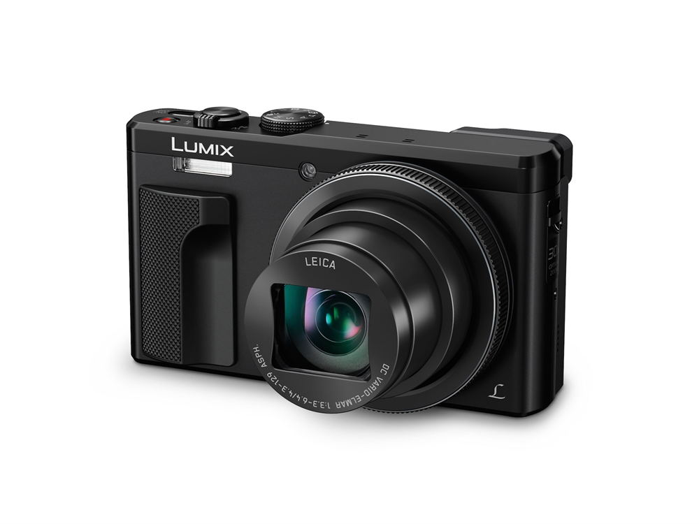 Panasonic Lumix DMC-TZ81 EG-K schwarz SET inkl.16 GB SD Speicherkarte + Tasche H-TZ81KSET