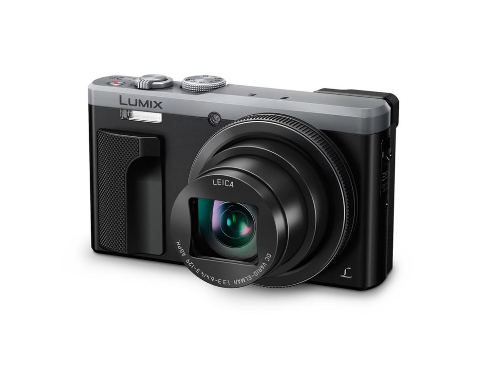Panasonic Panasonic Lumix DMC-TZ81 EG-S silber SET inkl.16 GB SD Speicherkarte + Tasche H-TZ81SSET